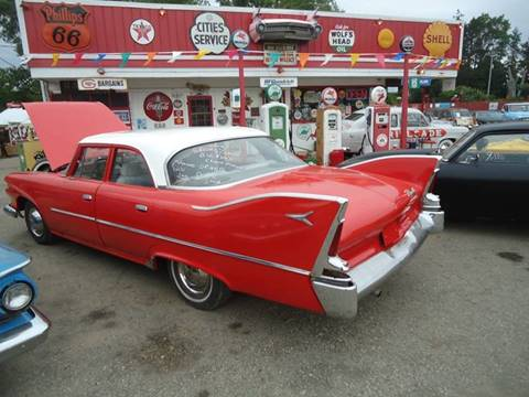 1960 Plymouth Savoy for sale at Marshall Motors Classics in Jackson Michigan MI