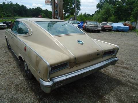1966 2 dr  fast back marlin for sale at Marshall Motors Classics in Jackson MI
