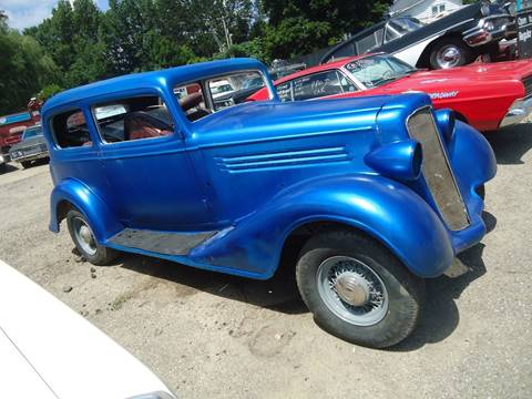 1934 buickj 2 dr for sale at Marshall Motors Classics in Jackson Michigan MI