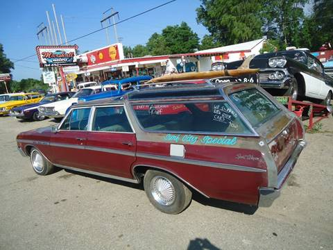 1965 Buick Sport Wagon for sale at Marshall Motors Classics in Jackson Michigan MI