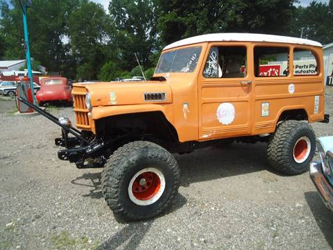 1959 Willys Jeep for sale at Marshall Motors Classics in Jackson Michigan MI