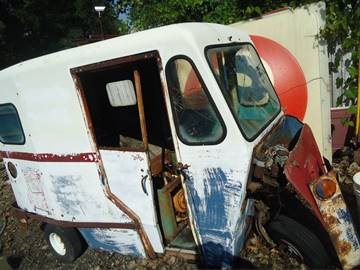 1963 Cushman mail buggy for sale at Marshall Motors Classics in Jackson Michigan MI
