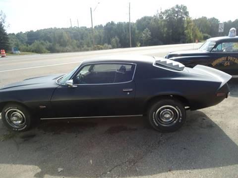 1971 Chevrolet Camaro for sale at Marshall Motors Classics in Jackson Michigan MI