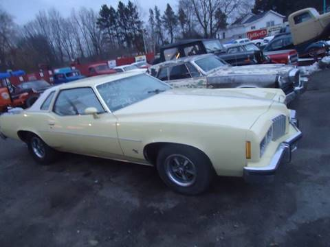 1977 Pontiac Grand Prix for sale at Marshall Motors Classics in Jackson Michigan MI