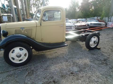 1935 Ford 1 ton for sale at Marshall Motors Classics in Jackson Michigan MI