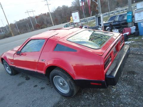 1975 bricklin bricklin for sale at Marshall Motors Classics in Jackson Michigan MI