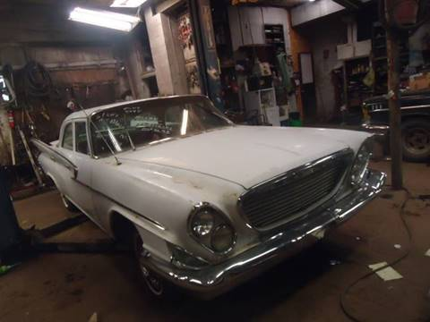 1961 Chrysler Newport for sale at Marshall Motors Classics in Jackson Michigan MI