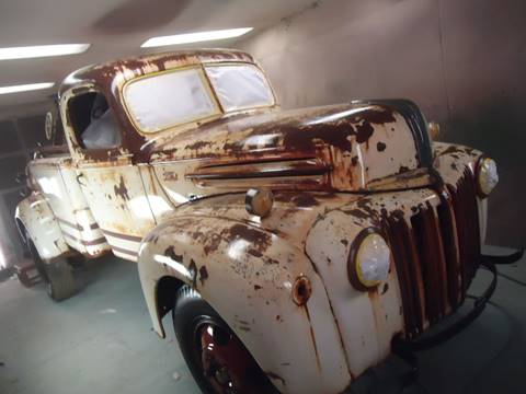 1945 Ford wreaker for sale at Marshall Motors Classics in Jackson Michigan MI