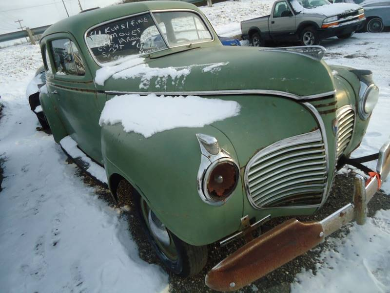 1941 Plymouth Deluxe Detroit Used Car for Sale