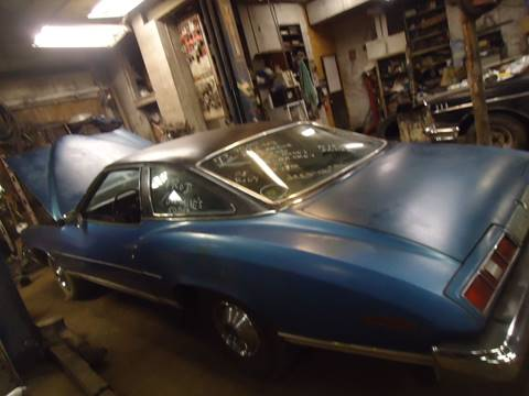 1973 Pontiac Le Mans for sale at Marshall Motors Classics in Jackson Michigan MI