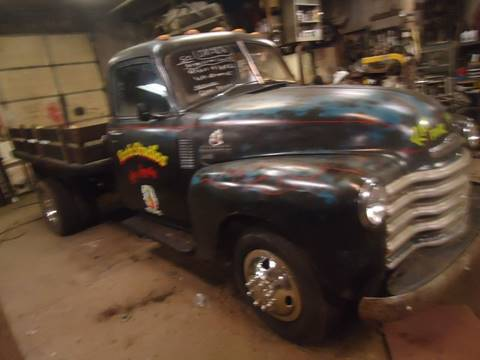 1950 Chevrolet 3800 for sale at Marshall Motors Classics in Jackson Michigan MI