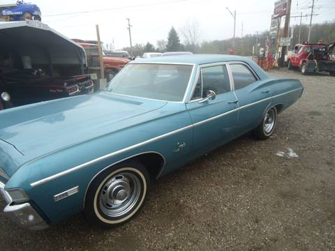 1968 Chevrolet Impala for sale at Marshall Motors Classics in Jackson Michigan MI