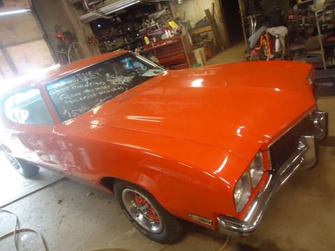 1972 Buick Skylark for sale at Marshall Motors Classics in Jackson Michigan MI
