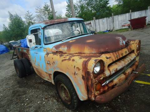 1957 Dodge D250 Pickup for sale at Marshall Motors Classics in Jackson Michigan MI