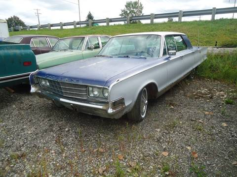 1965 Chrysler New Yorker for sale at Marshall Motors Classics in Jackson Michigan MI