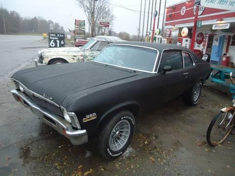 1973 Chevrolet Nova for sale at Marshall Motors Classics in Jackson Michigan MI