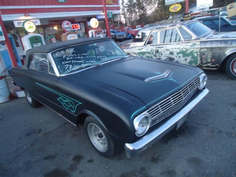 1963 Ford Falcon for sale at Marshall Motors Classics in Jackson Michigan MI