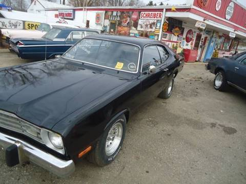 1973 Plymouth Duster for sale at Marshall Motors Classics in Jackson Michigan MI
