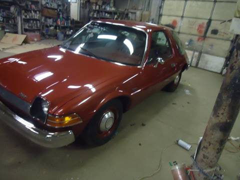 1975 AMC Pacer for sale at Marshall Motors Classics in Jackson Michigan MI