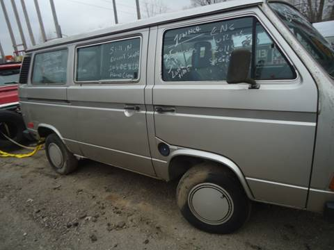 1985 Volkswagen Bus for sale at Marshall Motors Classics in Jackson Michigan MI