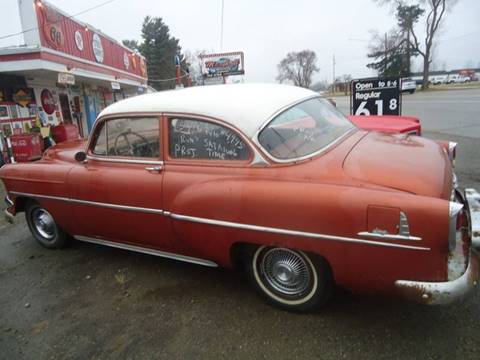 1954 Chevrolet Bel Air for sale at Marshall Motors Classics in Jackson Michigan MI