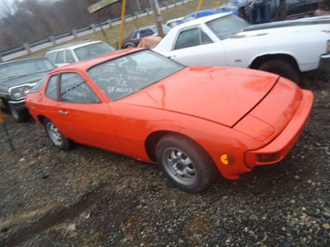 1977 Porsche 924 for sale at Marshall Motors Classics in Jackson Michigan MI