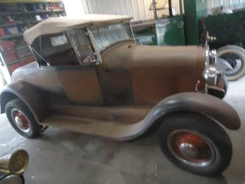 1928 Ford Model A for sale at Marshall Motors Classics in Jackson Michigan MI