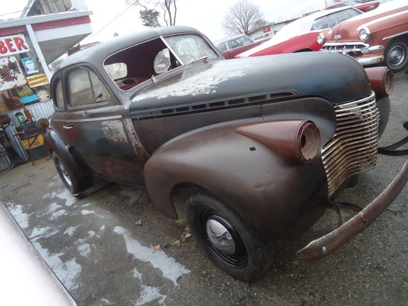1940 Chevrolet 2 Dr Coupe Detroit Used Car for Sale