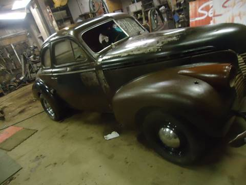 1940 Chevrolet 2 dr coupe for sale at Marshall Motors Classics in Jackson Michigan MI