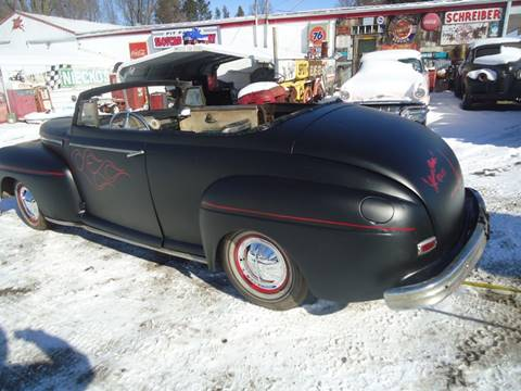 1941 Ford convertable for sale at Marshall Motors Classics in Jackson Michigan MI