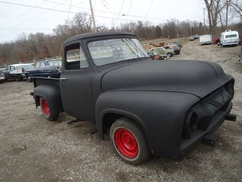 1955 Ford E-100 for sale at Marshall Motors Classics in Jackson Michigan MI