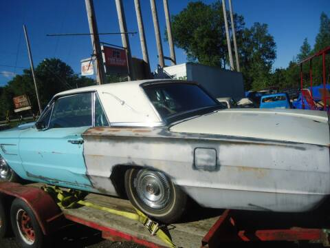 1965 Ford Thunderbird for sale at Marshall Motors Classics in Jackson Michigan MI
