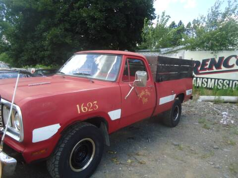 1977 Dodge D250 Pickup for sale at Marshall Motors Classics in Jackson Michigan MI
