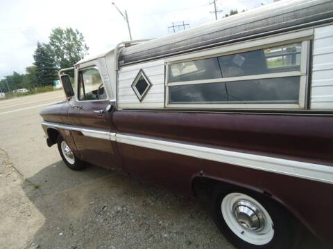 1966 Chevrolet C/K 10 Series for sale at Marshall Motors Classics in Jackson Michigan MI
