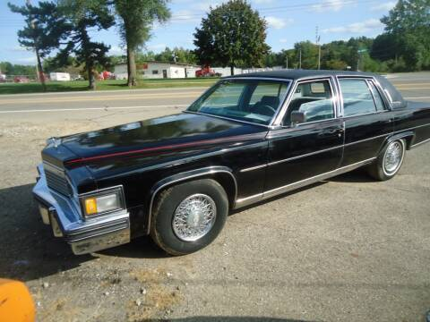 1979 Cadillac Fleetwood for sale at Marshall Motors Classics in Jackson Michigan MI