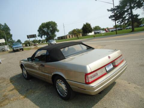 1990 Cadillac Allante for sale at Marshall Motors Classics in Jackson Michigan MI