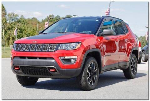 2020 Jeep Compass for sale at WHITE MOTORS INC in Roanoke Rapids NC