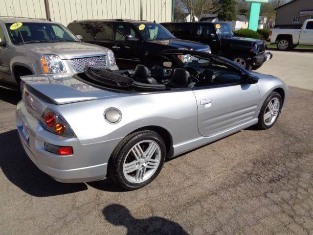 2003 Mitsubishi Eclipse Spyder GTS 2dr Convertible In ...