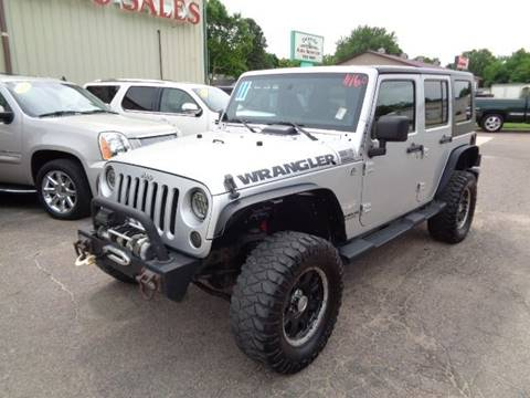 2011 Jeep Wrangler Unlimited for sale in Storm Lake, IA