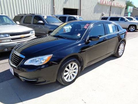 2013 Chrysler 200 for sale at De Anda Auto Sales in Storm Lake IA