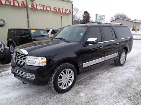 2008 Lincoln Navigator L for sale at De Anda Auto Sales in Storm Lake IA