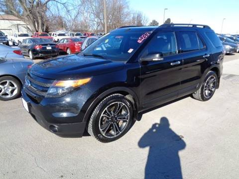2013 Ford Explorer Sport for sale at De Anda Auto Sales in Storm Lake IA