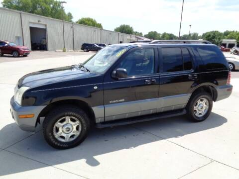 2002 Mercury Mountaineer for sale at De Anda Auto Sales in Storm Lake IA