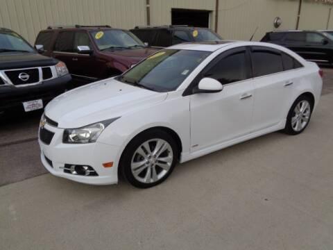 2014 Chevrolet Cruze for sale at De Anda Auto Sales in Storm Lake IA