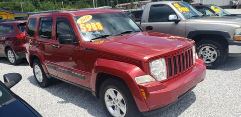 2010 Jeep Liberty for sale in Oneida, TN