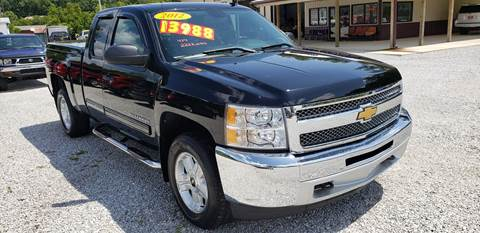 Trucks For Sale In Tn >> 2012 Chevrolet Silverado 1500 For Sale In Oneida Tn