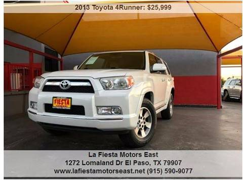 Toyota 4runner for sale in el paso tx for Fiesta motors el paso tx