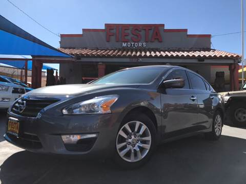 2015 nissan altima for sale in el paso tx for Fiesta motors el paso tx
