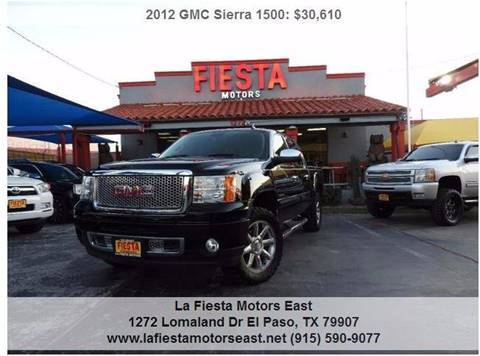 Gmc sierra 1500 for sale in el paso tx for Fiesta motors el paso tx