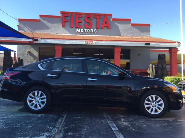 2015 nissan altima 2 5 s 4dr sedan in el paso tx la for Fiesta motors el paso tx